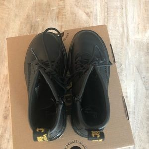 Youth size 12 Dr. Martens Black like new